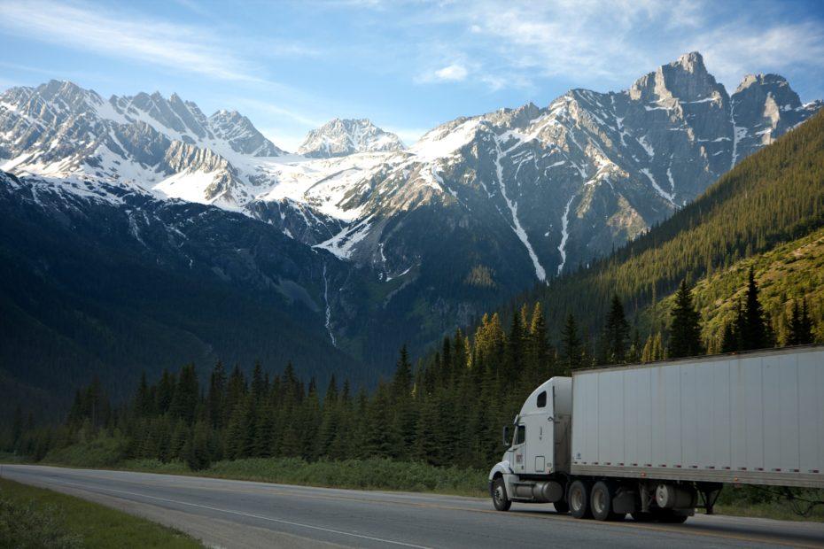 white dump truck near pine tress during daytime 93398 930x620 - Opony ciężarowe - kompendium wiedzy